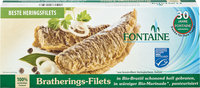 Bratherings-Filets in Bio-Marinade